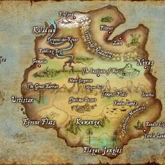 Карта Рунтерры (старая)