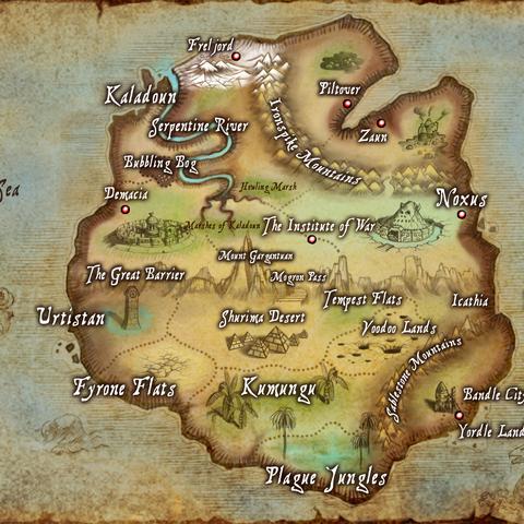 Runeterra | League of Legends Wiki | FANDOM powered by Wikia