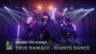 True Damage - GIANTS Dance - Behind the Scenes League of Legends