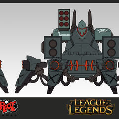 Battlecast Urgot Update Concept (by Riot Artist <a href=