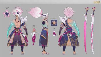 Yasuo Seelenblumen Konzept 03