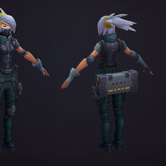Silverfang Akali Update Model 2 (by Riot Artists <a href=
