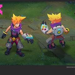 Arcade Ezreal Concept (by Riot Artist <a href=