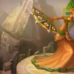 Pierwszy portret Karmy, Bogini Słońca