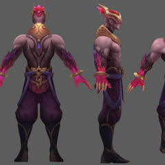 Nightbringer Lee Sin Model