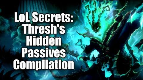 LoL Secrets Thresh's Hidden Passives Compilation