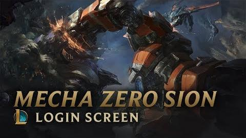 Mecha Zero Sion Login Screen - League of Legends