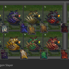 Dragonslayer Pantheon Chroma Concept (by Riot Artist <a rel=