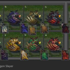 Dragonslayer Pantheon Chroma Concept (by Riot Artist <a href=
