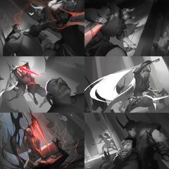 Blood Moon Pyke Splash Concept 2 (by Riot Artist <a href=