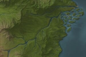 Serpentine River map