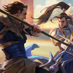 Jarvan and Xin Zhao IV