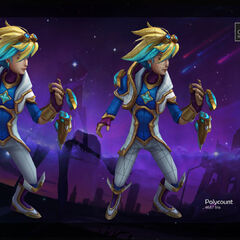 Star Guardian Ezreal Model 2 (by Riot Artist <a href=