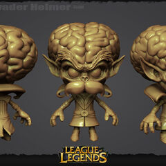Alien Invader Heimerdinger Update Model 1 (by Riot Artists <a href=