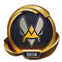 Worlds 2018 Team Vitality (Gold) Emote