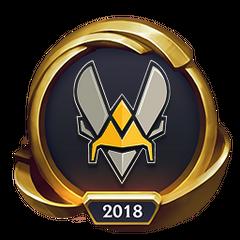 Mistrzostwa 2018 – Złote VIT