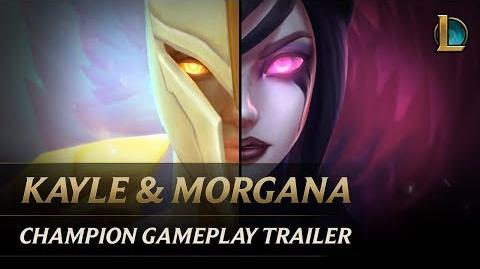 Kayle and Morgana The Righteous and the Fallen Champion Gameplay Trailer - League of Legends