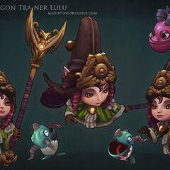 Dragon Trainer Lulu Model 3 (by Riot Artist <a href=