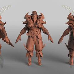 Pyke Model 1 (by Riot Artist <a href=