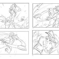 Battle Boss Qiyana Splash Concept 1 (by Riot Artist <a href=