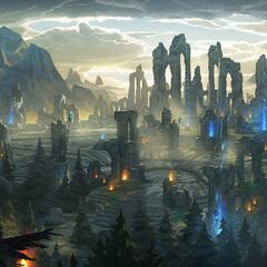 Summoner's Rift Update Landscape 3 (by Riot Artist <a href=