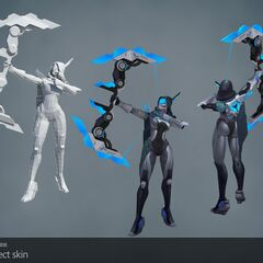 PROJECT: Ashe Model (by Riot Artists <a href=