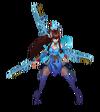 Irelia DivineSword (Aquamarine)