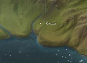 Krexor map