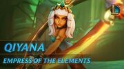 Qiyana Empress of the Elements Champion Trailer