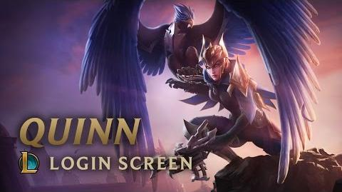Quinn, Demacia's Wings - Login Screen