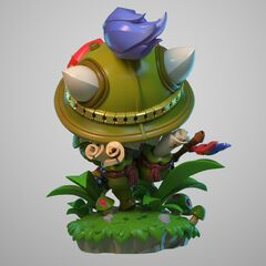 Teemo Statue Model 2 (by Riot Artists <a href=