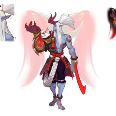 Blood Moon Aatrox Concept 2 (by Riot Artist <a href=