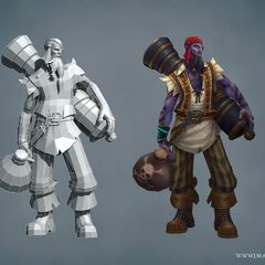 Pirate Ryze Update Model (by Riot Artists <a href=