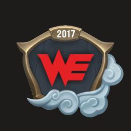 Worlds 2017 Team WE Emote
