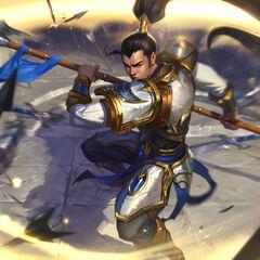 Xin Zhao Update Splash Concept 3 (by Riot Artist <a href=