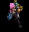 Джинкс ИзОдиссеи (Розовый кварц)