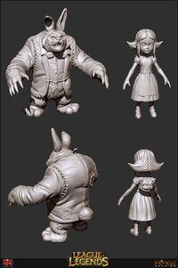 Annie Wunderland Konzept 3D