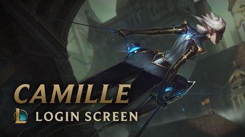 Camille, der stählerne Schatten - Login Screen