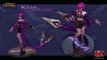 Evelynn KDA- Model 01