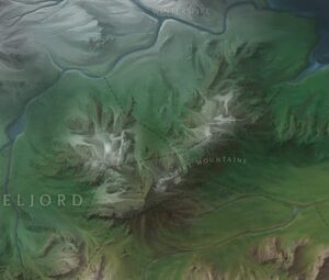 Ironspike Mountains map
