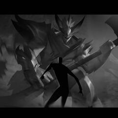 Dragon Knight Mordekaiser Update Splash Concept 5 (by Riot Contracted Artist <a rel=