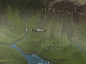Qualthala map