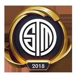 Worlds 2018 Team SoloMid (Gold) Emote