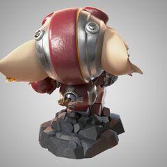 Ziggs Statue Model 2 (by Riot Artist <a href=