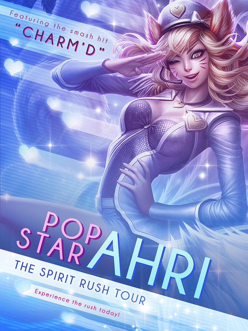 Ahri Popstar Promo