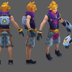 Arcade Ezreal Update Model