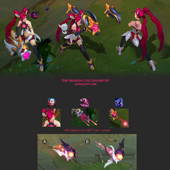 Star Guardian Jinx Concept 1 (by Riot Artist <a href=