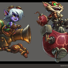 Mechs vs. Minions Concept 3 (by Riot Artist <a rel=