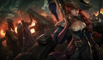 Miss Fortune CaptainFortuneSkin