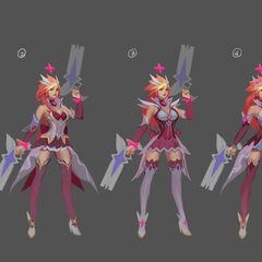 Star Guardian Miss Fortune Concept 2 (by Riot Artist <a href=